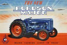 The New Fordson Power Major Dexta Brochure Poster Advert Leaflet A3