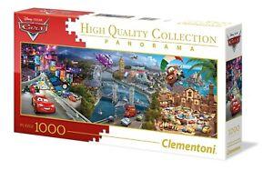 Clementoni Disney Puzzle Cars Panorama 1000 Pieces Jigsaw Puzzle