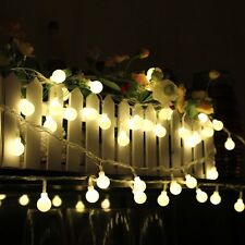 20Leds Solar Fairy String Lights Ball Shape 5m Home Party Christmas Waterproof