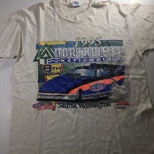 Vintage NHRA T-Shirt, 1995 Northwest Nationals, L