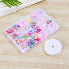 Rosenice Acrylic Craft Handmade Necklaces Jewelery Beads Kits Set for Kids Girls