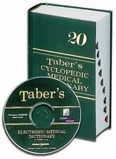 Taber's Cyclopedic Medical Dictionary (INDEXED) & Taber's Electronic Medical Dic