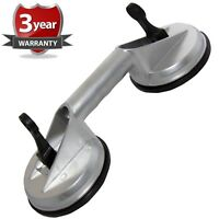 New Heavy Duty Aluminium Dual Double Suction Cup Glass Lifter Dent Puller 80kg