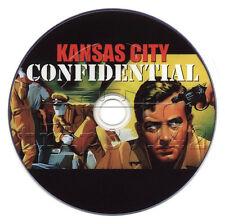 Kansas City Confidential (1952) Crime, Drama, Film-Noir Movie on DVD