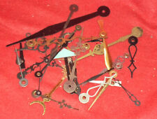 Group of 20-25 Antique Clock Hands Various Sizes