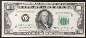 Billet, USA, 100 Dollars Franklin Series 1950 E.New-York.Rare.