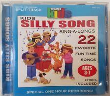 WONDER KIDS CHOIR - Kids Silly Song Sing-A-Longs (CD, 1998, Madacy Distr)