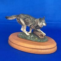 THE HAMILTON COLLECTION TIMBER WOLF GREAT ANIMALS OF THE AMERICAN WILDERNESS