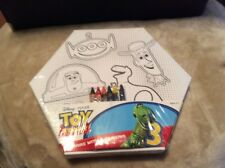 Disney Pixar Toy Story 3 Canvas With 6 Crayons Buzz, Woody, Rex And Alien MIP