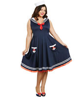 New Dreamgirl 10284X Plus Size All Aboard Costume