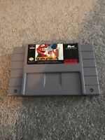 Mario's Early Years: Fun With Letters (Super Nintendo Entertainment System,...