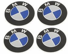 Set of 4 BMW E36 E30 E34 E39 E60 X5 Emblem - Wheel Center Caps (70 mm Diameter)
