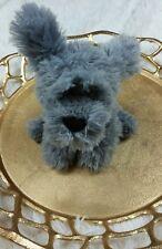 GUND Puppy Dog Plush Racco Stuffed Animal Toy lovie NWT NEW  gray poodle