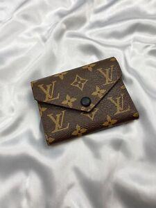 Brown Louis Vuitton Monogram Wallet Purse 41938