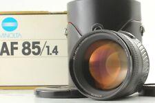 【 NEAR MINT+ in BOX 】 Minolta AF 85mm F1.4G RS Sony Minolta A Mount from Japan