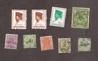 Indonesia /3 MNH/, India and States incl. Service and Pakistan GOOD Lot stamps