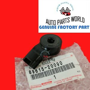 GENUINE TOYOTA CAMRY AVALON 4RUNNER IS RX SC GS KNOCK CONTROL SENSOR 89615-20090
