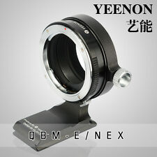 【YEENON】Rollei QBM lens TO SONY E Camera Adapter (With 90º rotating tripod base)