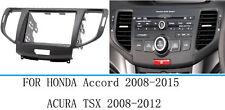 For Honda Euro Accord 08-15 /Acura TSX Car Stereo Radio Fascia Dash Panel Frame