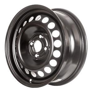 New 15X6 Black Steel Wheel for 2005-2010 Chevrolet Cobalt 560-08077