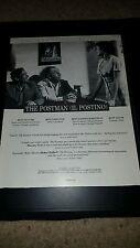 The Postman IL Postino Rare Original Academy Awards Promo Poster Ad Framed! #4
