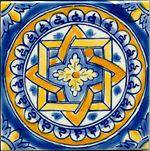 """Mediterranean Italian Ceramic Tiles - Firenze 4x4"""""""