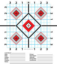 """100-9""""x11"""" Rifle  Targets-Great for Sighting in Scope"""