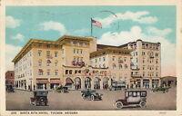Postcard Santa Rita Hotel Tucson AZ