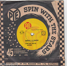 KENNY BALL & JAZZMEN  Midnight In Moscow / I'm Satisfied With My Girl 45