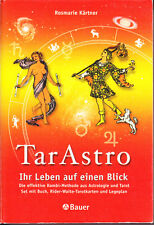 Kärtner Rosemarie – TarAstro – Set > Buch, Karten, Legeplan – sehr guter Zustand