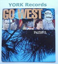 "GO WEST - Faithful - Excellent Condition 7"" Single Chrysalis GOW 9"