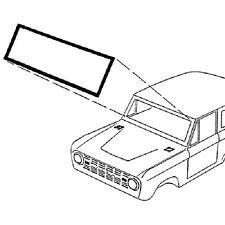 66-77 Ford Bronco Windshield Weatherstrip W/O Molding