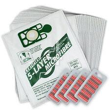 20 x Numatic Henry Hetty HEPAFLO Vacuum Cleaner Cloth Hoover Bags & Fresheners