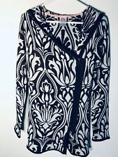 Avalanche Exotic Floral Designs Zip-Front Stretch Woman's Hoodie S
