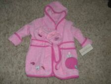 NWT 0-9 Mos. KOALA BABY Pink Terry Robe and Slippers