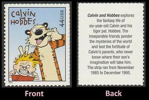 US 4468 Sunday Funnies Calvin Hobbes 44c single (1 stamp) MNH 2010