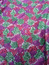 PRETTY ditsy floral cotton FAbric country retro Bright fun pattern