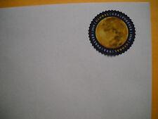 10 #10 stamped global international forever pull & seal envelopes face value