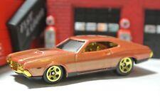 Hot Wheels '72 Gran Torino Sport - Copper - Loose - Target Exclusive - Grand