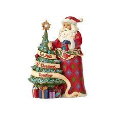 Jim Shore Hwc 2017 15th Anniversary Santa w/Tree #4059000 Nib Free Ship 48 State