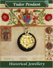 Tudor Rose Pendant - Gold Plated