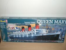 Revell Queen Mary 1/570 05698 Kit With Paints,Glue and brush