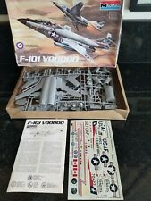 MONOGRAM F-101 VOODOO JET PLANE 1/48 SCALE MODEL KIT