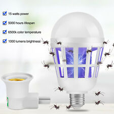 Electric Mosquito Killer Lamp LED UV Light Insect Fly Bug Zapper Pest Control