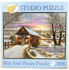 Bits and Pieces Jigsaw 1000 Piece Puzzle H. Hargrove Home Again Complete