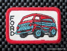 "FORD VAN EMBROIDERED SEW ON PATCH AUTO ADVERTISING UNIFORM HAT SHIRT 3"" x 2"""