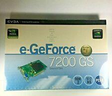 SEALED NEW - EVGA Nvidia GeForce 7200GS Graphics Card 512MB , DDR2, 512MB, PCI-E