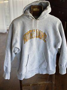 VTG XL 80s MADE IN USA notre dame champion reverse weave sweatshirt hoodie