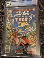 What If? #10 (1978) CGC 9.6 1st Jane Foster as Thor Love & Thunder White Pages