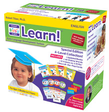 Your Baby Can Learn! 4 Level UK English. BRAND NEW! From Australian Distributor